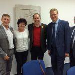 Pardubickou kandidátku KDU-ČSL podpořil vicepremiér a předseda Pavel Bělobrádek