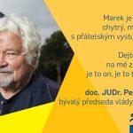 Podporuje mne Petr Pithart