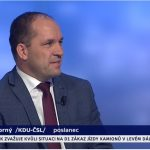 Marek Výborný v Událostech, komentářích ke zdanění církevních restitucí